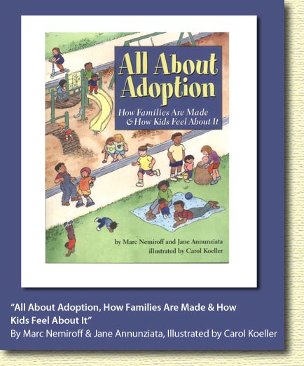 All About Adoption Bookcover