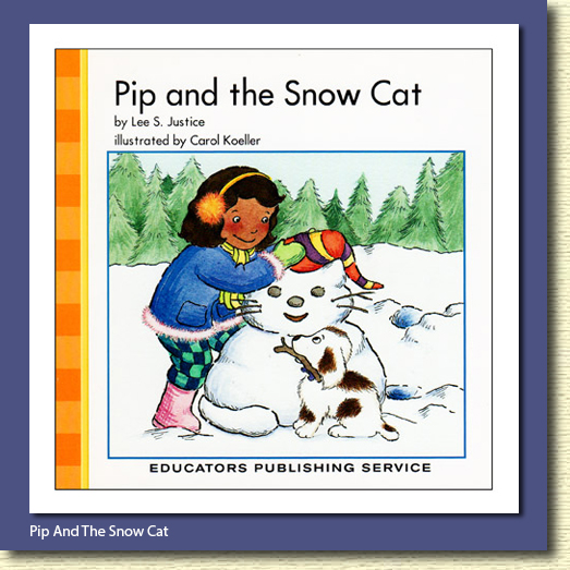 Pip and the Snow Cat book cover